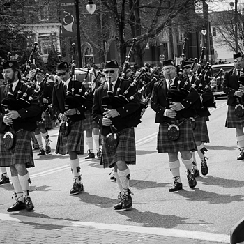Bagpipers | LEICA 50MM F/2.0 SUMMICRON 2ND  VERSION <br> Click image for more details, Click <b>X</b> on top right of image to close
