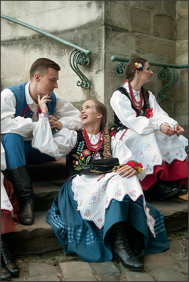"""Polish Folk Dancers"" 