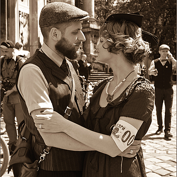 """Tweed Run Leopolis 2017"" Reportage 