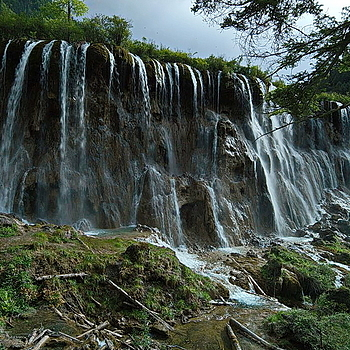 Norulang Waterfalls China | LEICA TRI-ELMAR 16-18-21MM F4 ASPH <br> Click image for more details, Click <b>X</b> on top right of image to close