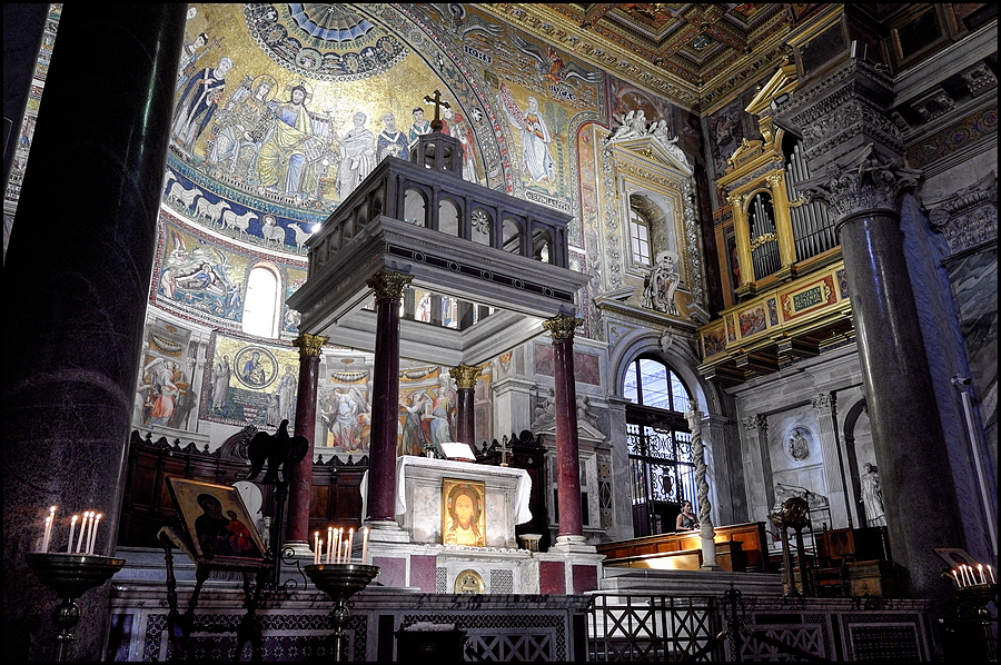 S.Maria in Trastevere Roma | LENS MODEL NOT SET <br> Click image for more details, Click <b>X</b> on top right of image to close