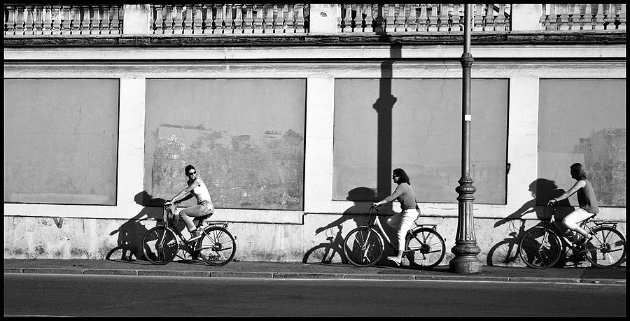 Cyclists | CANON LTM 50MM F1.8 <br> Click image for more details, Click <b>X</b> on top right of image to close