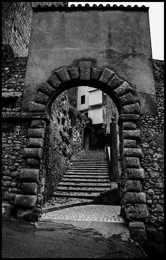 Civitella San Paolo: Entrance to the fortress | LENS MODEL NOT SET <br> Click image for more details, Click <b>X</b> on top right of image to close
