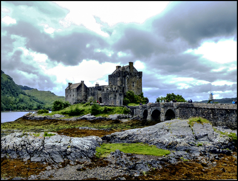 The Eilean Donan castle | DC VARIO-ELMARIT 1:2.8/4.5-108 ASPH <br> Click image for more details, Click <b>X</b> on top right of image to close