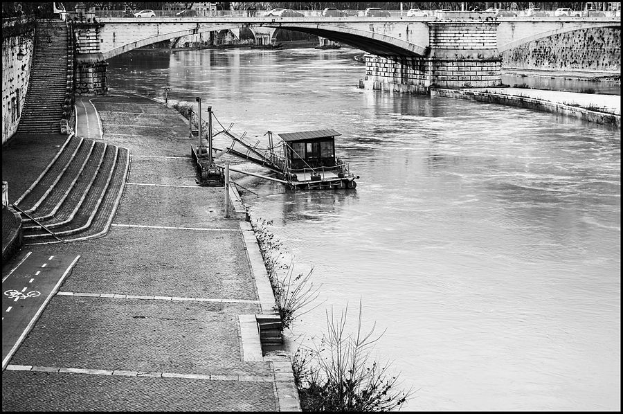 The Tiber at Ponte Garibaldi | LENS MODEL NOT SET <br> Click image for more details, Click <b>X</b> on top right of image to close