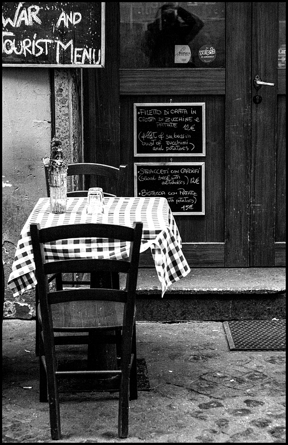 Old Restaurant in Trastevere | LENS MODEL NOT SET <br> Click image for more details, Click <b>X</b> on top right of image to close