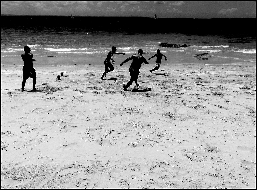 Ilha dos Frades: football on the beach 2 | DC VARIO-ELMARIT 1:2.8/4.5-108 ASPH <br> Click image for more details, Click <b>X</b> on top right of image to close