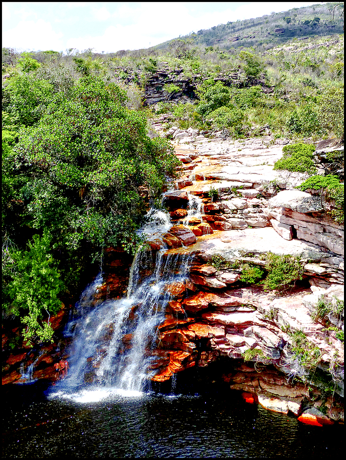 Chapada Diamantina: the Poco do Diabo waterfall | DC VARIO-ELMARIT 1:2.8/4.5-108 ASPH <br> Click image for more details, Click <b>X</b> on top right of image to close