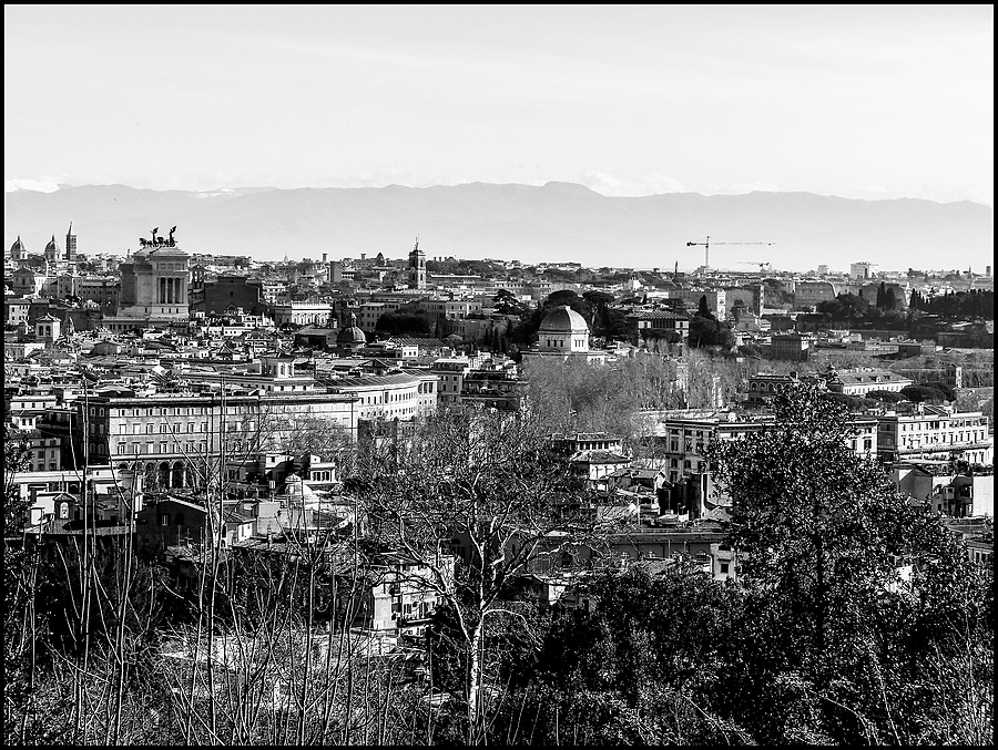 View off Rome frome terrace of Giannicolo | DC VARIO-ELMARIT 1:2.8/4.5-108 ASPH <br> Click image for more details, Click <b>X</b> on top right of image to close