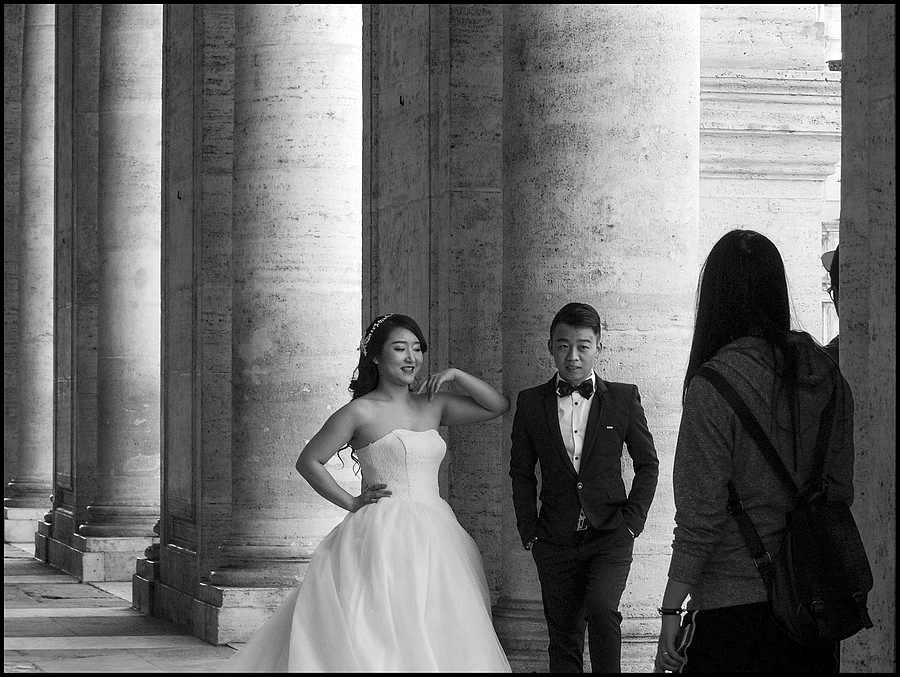 Civil marriage at the Campidoglio of a young Chinese couple | DC VARIO-ELMARIT 1:2.8/4.5-108 ASPH <br> Click image for more details, Click <b>X</b> on top right of image to close