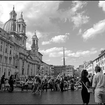 Roma Piazza Navona | LENS MODEL NOT SET