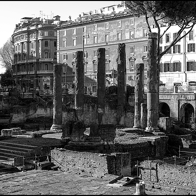 Dea Feronia temple: largo Argentina Roma | LENS MODEL NOT SET <br> Click image for more details, Click <b>X</b> on top right of image to close