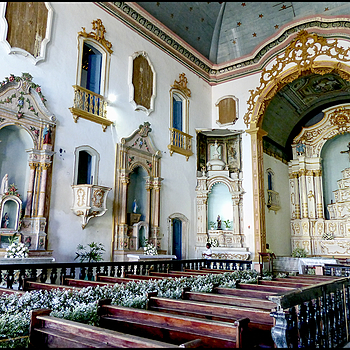 Ilha Itaparica-Igreja do Santíssimo Sacramento: Interior | DC VARIO-ELMARIT 1:2.8/4.5-108 ASPH <br> Click image for more details, Click <b>X</b> on top right of image to close