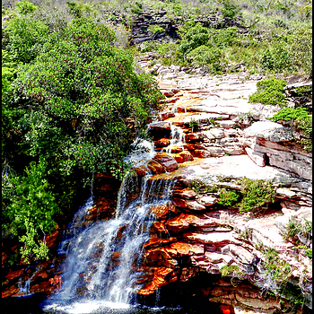 Chapada Diamantina: the Poco do Diabo waterfall | DC VARIO-ELMARIT 1:2.8/4.5-108 ASPH