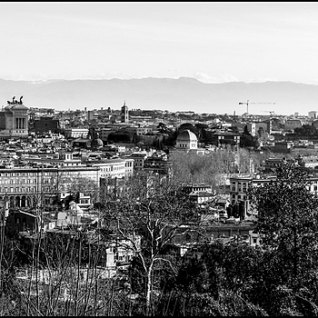 View off Rome frome terrace of Giannicolo | DC VARIO-ELMARIT 1:2.8/4.5-108 ASPH