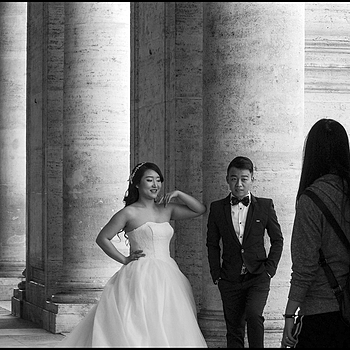 Civil marriage at the Campidoglio of a young Chinese couple | DC VARIO-ELMARIT 1:2.8/4.5-108 ASPH