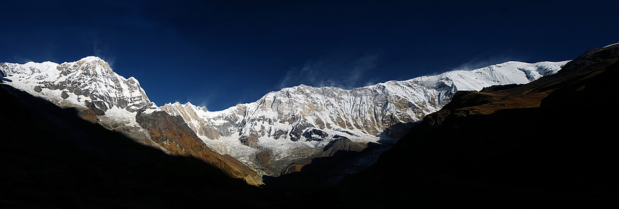 Annapurna  panorama | LEICA 28MM SUMMILUX F1.7 AF <br> Click image for more details, Click <b>X</b> on top right of image to close