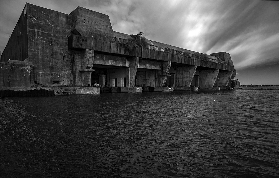 Lorient Submarine Base | ZEISS ZM BIOGON T* F2.8 21MM <br> Click image for more details, Click <b>X</b> on top right of image to close