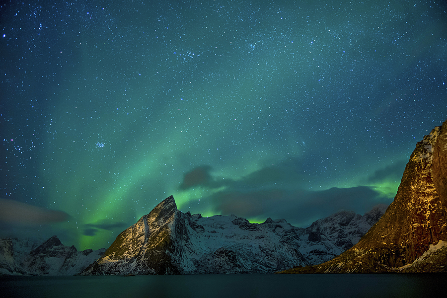 Lofoten Aurora | LEICA SUMMILUX 21MM F1.4 ASPH <br> Click image for more details, Click <b>X</b> on top right of image to close