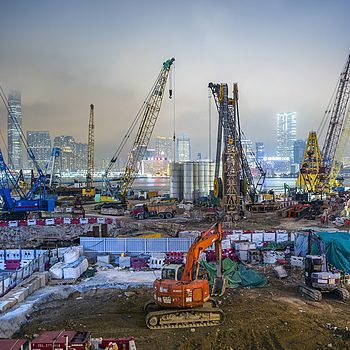 Cranes HK Central | ZEISS ZM BIOGON T* F2.8 21MM <br> Click image for more details, Click <b>X</b> on top right of image to close