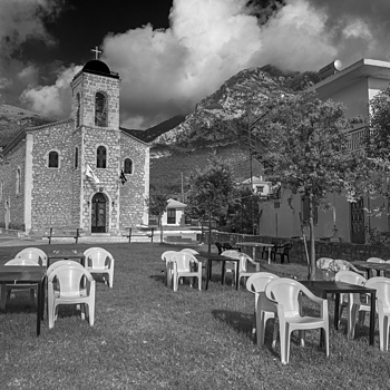 Church and chairs | LEICA 28MM SUMMILUX F1.7 AF
