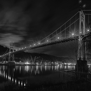 St. Johns Bridge | ZEISS ZM BIOGON T* F2.8 21MM <br> Click image for more details, Click <b>X</b> on top right of image to close