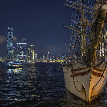 Sailing ship Hong Kong