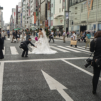Bride on Ginza