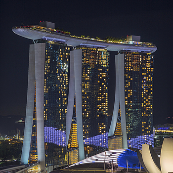 Marina Bay Sands Hotel | LEICA APO-SUMMICRON 90MM F2 ASPH <br> Click image for more details, Click <b>X</b> on top right of image to close