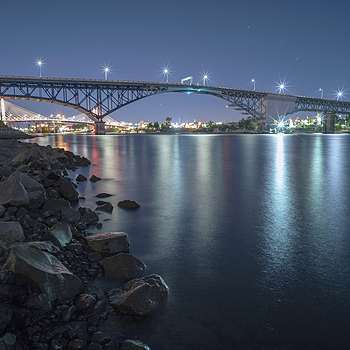 Ross Island Bridge | ZEISS ZM BIOGON T* F2.8 21MM <br> Click image for more details, Click <b>X</b> on top right of image to close