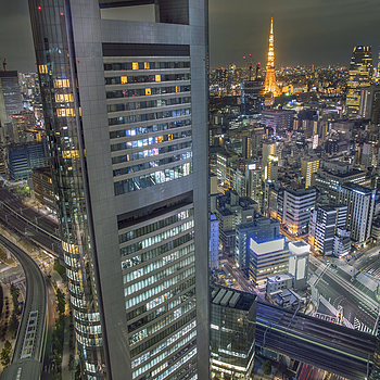 Tokyo Tower | LEICA SUMMILUX 21MM F1.4 ASPH <br> Click image for more details, Click <b>X</b> on top right of image to close