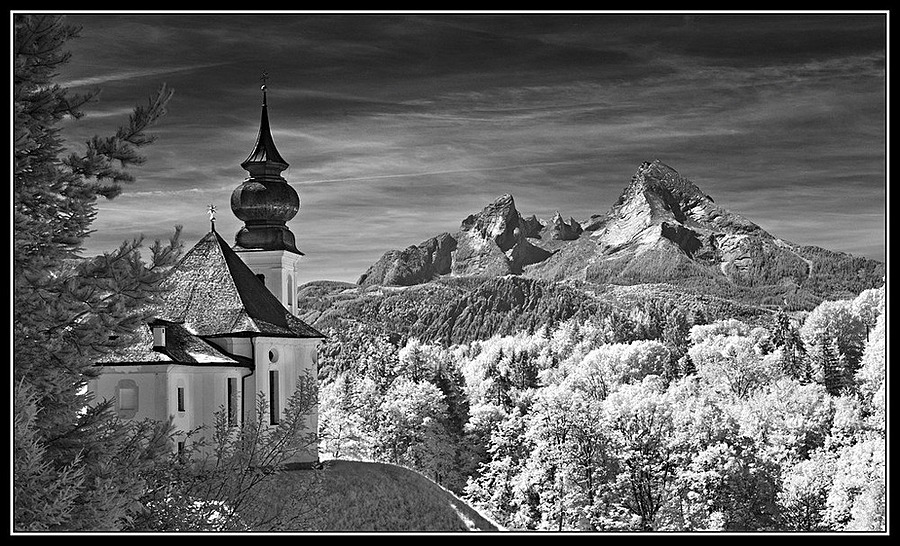 Berchtesgadener Land / Wallfahrtskirche Maria Gern | LEICA SUMMICRON 35MM F2 1ST VERSION <br> Click image for more details, Click <b>X</b> on top right of image to close