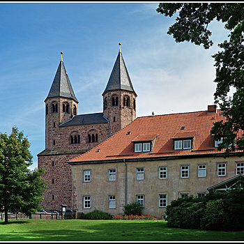 Kloster Bursfelde - Westseite | LEICA SUMMICRON-C 40MM F/2 <br> Click image for more details, Click <b>X</b> on top right of image to close