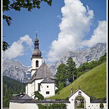 "Ramsau - Church ""St.Sebastian"" 
