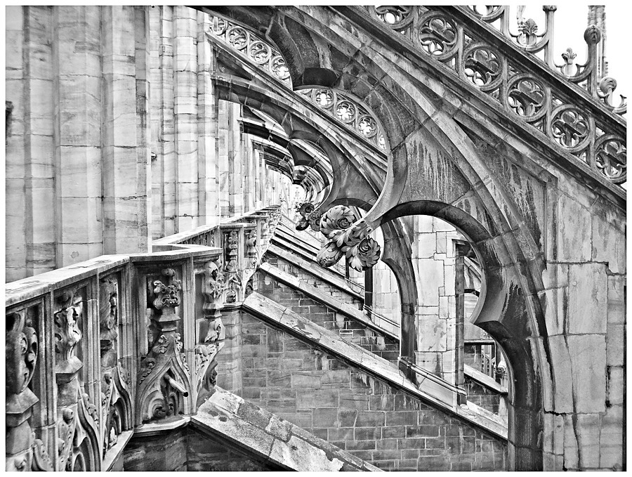 Milan Cathedral (Detail) | DG VARIO-ELMARIT 25-125MM F2.8-5.9 <br> Click image for more details, Click <b>X</b> on top right of image to close