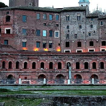Roma, Mercati di Traiano | LENS MODEL NOT SET <br> Click image for more details, Click <b>X</b> on top right of image to close