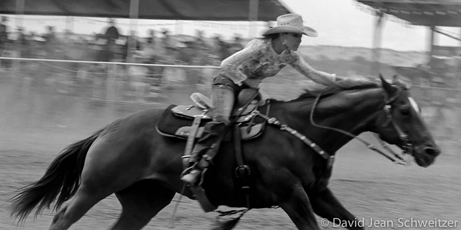 The Barrel Racer on the Finish Line | LEICA TELE-ELMAR 135MM F/4 <br> Click image for more details, Click <b>X</b> on top right of image to close