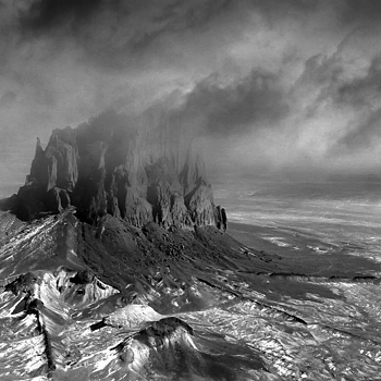 Stormclouds Over Shiprock | LEICA SUMMICRON 50MM F2 <br> Click image for more details, Click <b>X</b> on top right of image to close