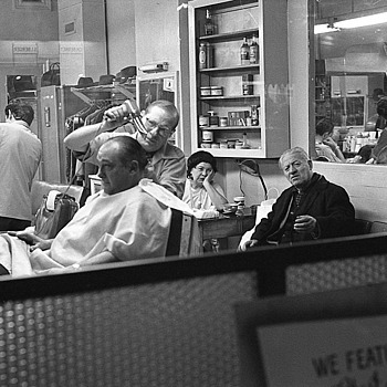 At the Barbershop | LENS MODEL NOT SET <br> Click image for more details, Click <b>X</b> on top right of image to close