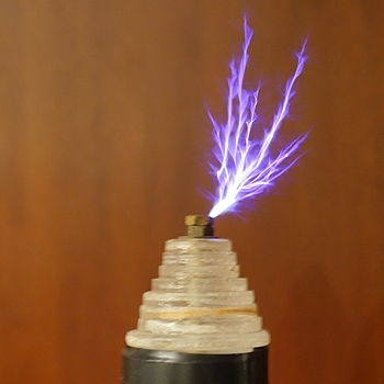 Tesla Coil | LENS MODEL NOT SET <br> Click image for more details, Click <b>X</b> on top right of image to close