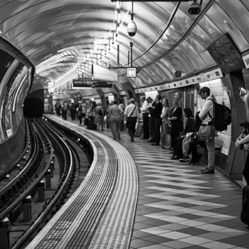 Bank Station | LEICA SUMMICRON 50MM F2 <br> Click image for more details, Click <b>X</b> on top right of image to close