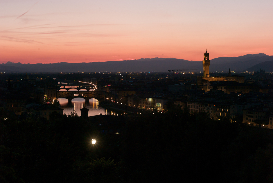 Sunset, Piazza Michaelangelo, Firenze | ZEISS ZM BIOGON T* F2.0 35MM <br> Click image for more details, Click <b>X</b> on top right of image to close