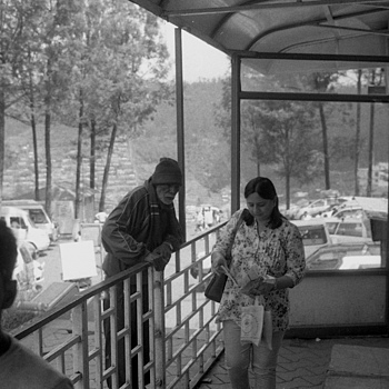 Lady at Tea Factory | LEICA 35MM F/2.0 SUMMICRON 1ST VERSION 1970 <br> Click image for more details, Click <b>X</b> on top right of image to close