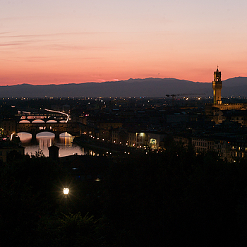Sunset, Piazza Michaelangelo, Firenze