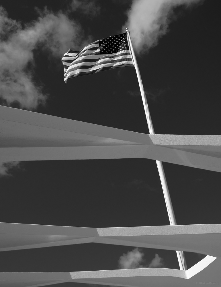 USS Arizona Memorial, Pearl Harbor | LENS MODEL NOT SET <br> Click image for more details, Click <b>X</b> on top right of image to close