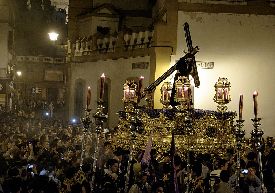 Holy Week Processional, Seville Spain | LENS MODEL NOT SET <br> Click image for more details, Click <b>X</b> on top right of image to close