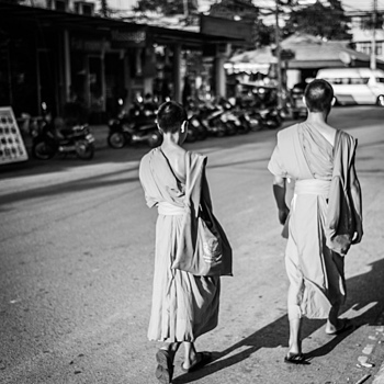 two monks | LEICA SUMMICRON 35MM F2 ASPH <br> Click image for more details, Click <b>X</b> on top right of image to close