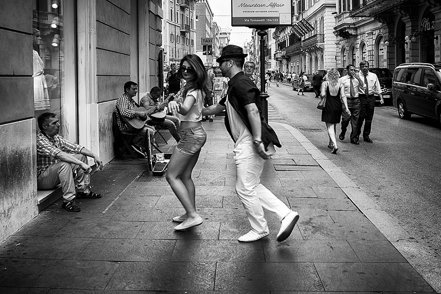 Rumba in Rome | LEICA 35MM F/1.4 SUMMILUX <br> Click image for more details, Click <b>X</b> on top right of image to close