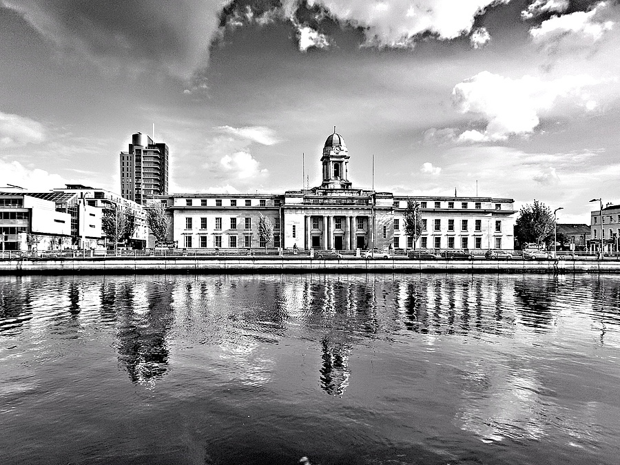 Cork City Hall | NKON 20MM F2.8 AIS <br> Click image for more details, Click <b>X</b> on top right of image to close