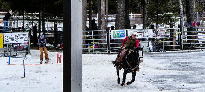 Skijoring (Cowboy Style) | LENS MODEL NOT SET <br> Click image for more details, Click <b>X</b> on top right of image to close